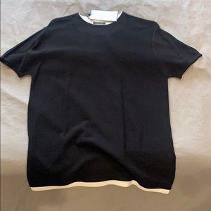 Zara Black Tee Shirt (Brand New)